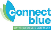 Connect Blue footer logo